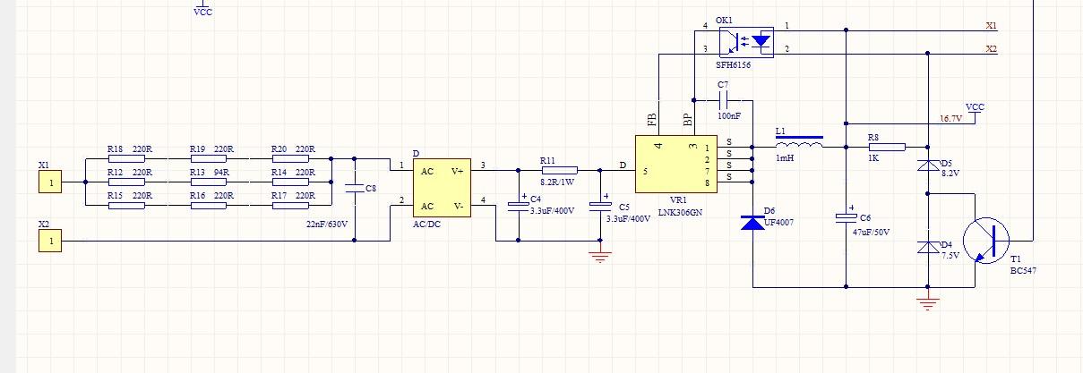 多谢谢工的建议。谢工您看我对这个电路的理解对不,堵转时候,电机电流变大,导致Q2和Q3压降增大4V左右,电机电压会先降到12V左右,然后过几秒,C2充电导致比较器正极电压大于负极电压,输出高电平,T1导通,短路D4,电源电压变成D5和6156的和,大约是9.7左右。这个时候电机两端的电压会变成9.